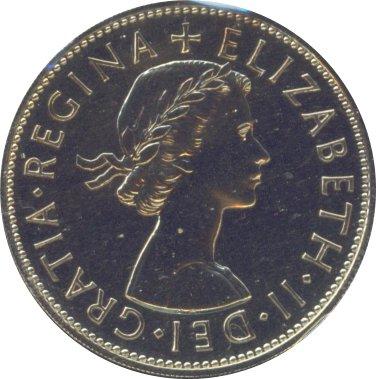 Great Britain 1970 Half Crown Proof