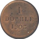 Guernsey 1903H 1 Double Unc
