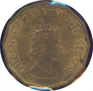 Jersey 1964 3 Pence Unc
