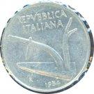 Italy 1954 10 Lire XF+