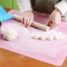 Sale Large Dough Rolling Baking Mat Cutting Fondant Pastry Cake DIY Accs Kitchen Tools Blue Pink
