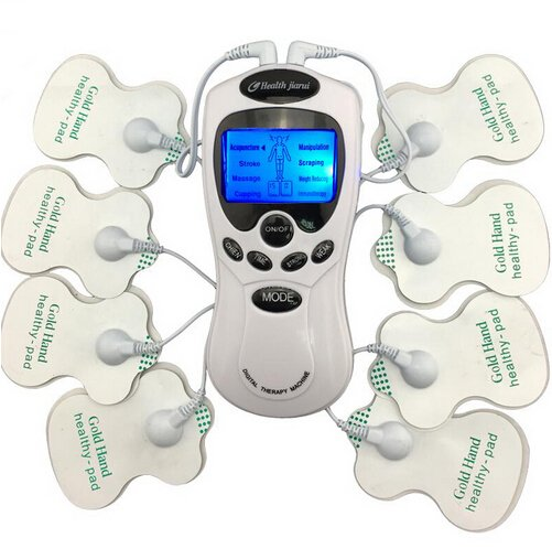 On sale Massager Therapy Health care Full Body Muscle Pain Relief Acupuncture 8 Pads Creative Gifts
