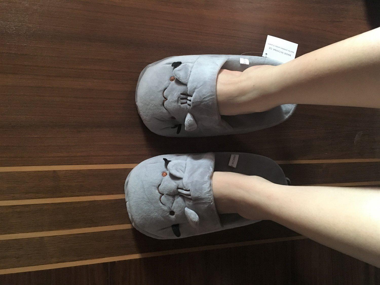Men & Women Casual Shoes Slippers Funny Cute Fat Fat Cat Creative Gifts Pusheen 35-41 Kid's Toys