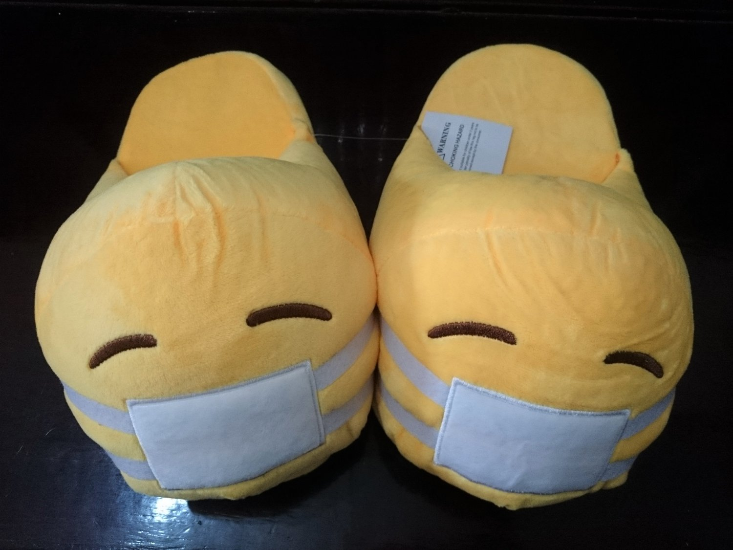 35-40 MEN & WOMEN Shoes Funny SICK SICK Emoji Slippers Home Accs Creative Gifts Costumes Accs