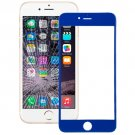 iPhone 6 Plus Front Screen Outer Glass Lens(Dark Blue)