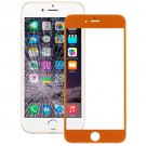 iPhone 6 Plus Front Screen Outer Glass Lens(Orange)