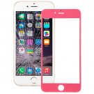 iPhone 6 Plus Front Screen Outer Glass Lens(Pink)
