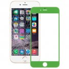 iPhone 6 Plus Front Screen Outer Glass Lens(Green)
