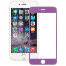 iPhone 6 Plus Front Screen Outer Glass Lens(Purple)