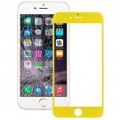 iPhone 6 Plus Front Screen Outer Glass Lens(Yellow)