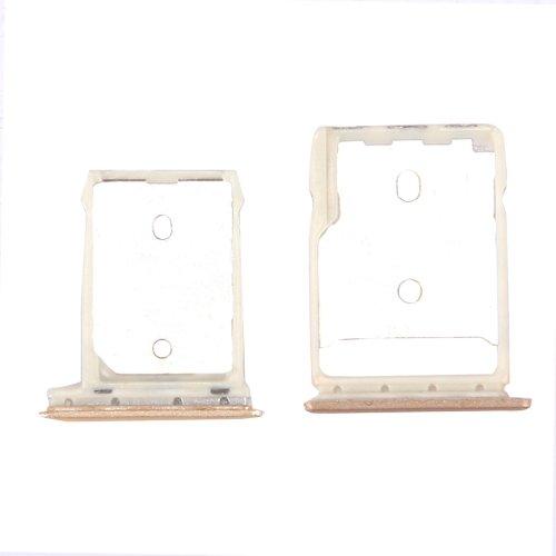 HTC 10 / One M10 SD Card Tray + SIM Card Tray (Gold)