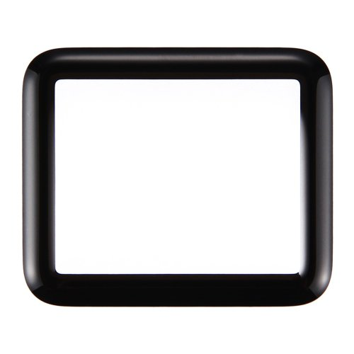 Apple Watch Series 1 38mm Front Screen Outer Glass Lens(Black)