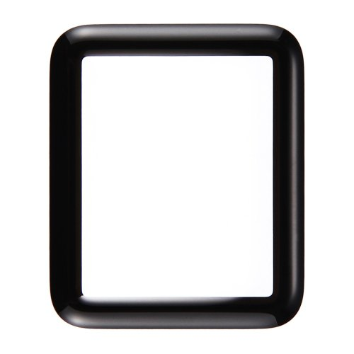 Apple Watch Series 1 42mm Front Screen Outer Glass Lens(Black)