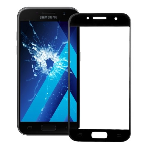 Samsung Galaxy A7 (2017) / A720 Front Screen Outer Glass Lens(Black)