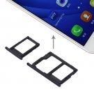 Samsung Galaxy  G570 & On7/ On5(2016) / G610 SIM Card Tray + Micro SD & SIM Card Tray (Black)