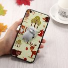 iPhone 7 3D Cartoon Squeeze Relief Squishy Dropproof Protective Back Cover Case