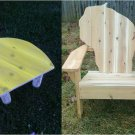Wisconsin adirondack chair, Wisconsin chair, Wisconsin shape chair, Wisconsin back chair, WCSC30559