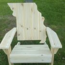 Missouri adirondack chair, Missouri chair, Missouri shape chair, Missouri back chair, MOSC3559