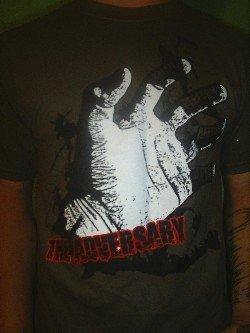 Brown Hand T-shirt