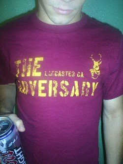 Maroon Antelope Shirt