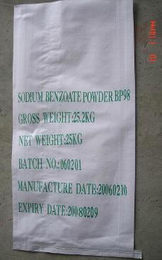 Preservative solubility of sodium benzoate Sodium Benzoate