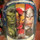 Hulk, Iron Man, Thor Blue Silver Book Bag