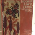 Vogart CRAFTS Hook-it Latch Hook Kit WallHanging Rug Kit Cattails&Butterfly