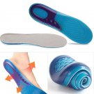 Gel Orthotic Arch Support Massaging Insoles Insert Sport Shoe Pads for him !