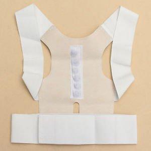 New Posture Corrector Belt Back Support Body Brace Shoulder Therapy Magnet Gifts