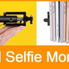 Wired Monopod Extendable Cable Selfie Stick Pole for iPhone, Samsung Galaxy, HTC