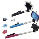 Selfie STICK TELESCOPIC Wireless Bluetooth For iPhone Remote Shutter Samsung iPh
