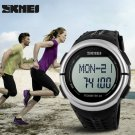 Waterproof Outdoor Sports Pedometer Heart Rate Electronic Watch
