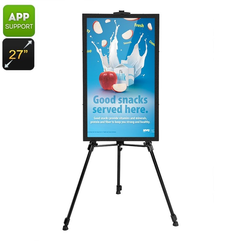 NEW Intelligent Full HD 27inc Programmable Scrolling Message Display iOS Android