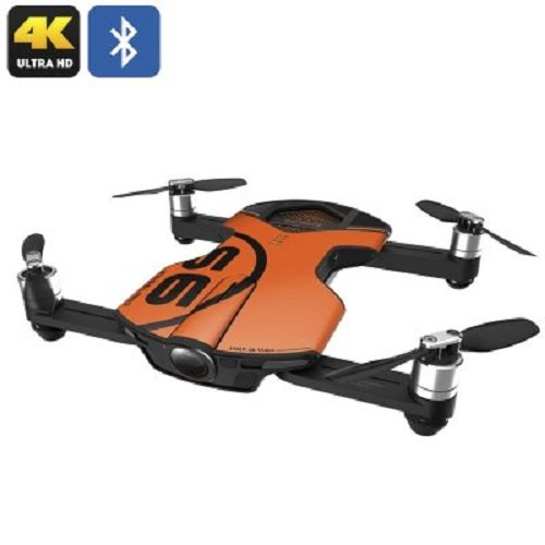 Wingsland S6 Pocket Selfie Drone WiFi FPV 4K UHD Camera Comprehensive Quacopter