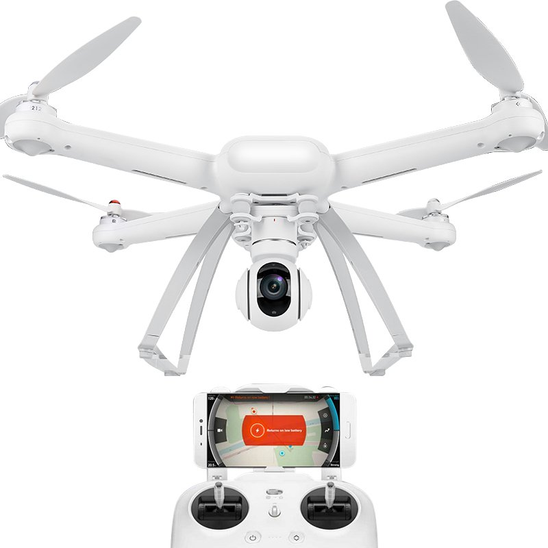 Xiaomi Mi Drone 1080p Camera FPV Support 18m/s Flight Speed 500m Distance
