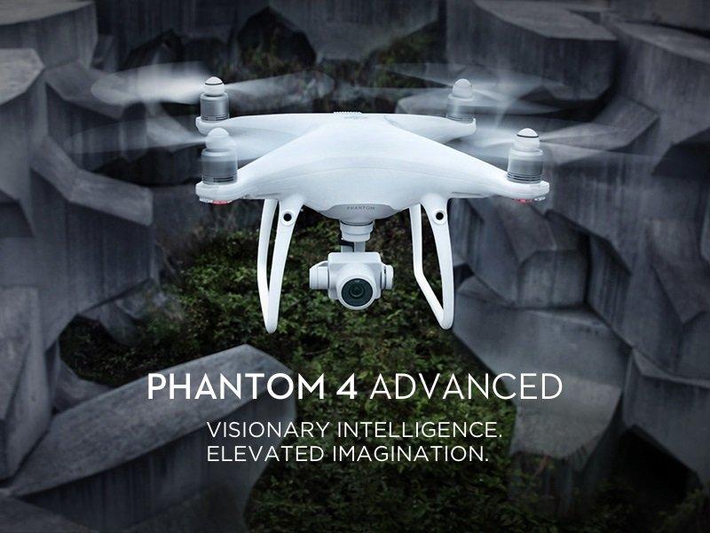 DJI phantom 4 quadcopter  12.4MP Camera