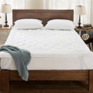 (QUEEN)  Down Alternative Mattress Topper / Pad With Anchor Straps