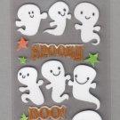 Sandylion Essentials Scrapbooking Stickers SPOOKY GHOSTS Halloween Boo! 3D - EL06