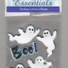 Sandylion Essentials Scrapbooking Stickers GHOSTS spooky Boo 3D - ES03