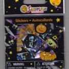 Sandylion HALLOWEEN - Ghost Witch Pumpkin Skeleton Bat - 100 Die Cut Stickers  - DC01