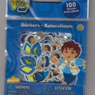Sandylion Nick Jr GO DIEGO GO - 100 Die Cut Stickers - DC05