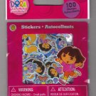 Sandylion Nickelodeon DORA THE EXPLORER  - 100 Die Cut Stickers - DC15