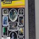 National Geographic KIDS stickers SPACE astronaut moon