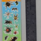 National Geographic KIDS stickers BUGS spiders
