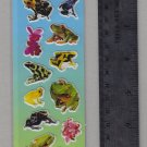 National Geographic KIDS stickers REPTILE frogs