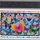 Sandylion Sticker Book Album BUTTERFLY BUTTERFLIES