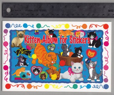 Sandylion Sticker Book Album KITTENS