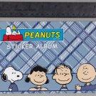 Sandylion Sticker Book Album PEANUTS Charlie Brown Linus Lucy Snoopy