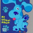 Sandylion Sticker Book Album BLUE'S CLUES Nickelodeon Nick Jr