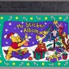 Sandylion Sticker Book Album Christmas Winnie the POOH Piglet Tigger